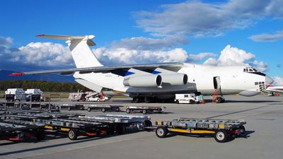 ER-IBV - Ilyushin IL-76T - Jet Line International