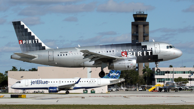 N524NK - Airbus A319-132 - Spirit Airlines