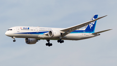 JA837A - Boeing 787-9 Dreamliner - All Nippon Airways (ANA)