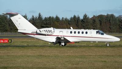 G-YEDC - Cessna 525B CitationJet 3 - Private