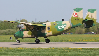 0207 - PZL-Mielec M-28TD Bryza - Poland - Air Force