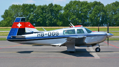 HB-DGG - Mooney M20J-201 - Private