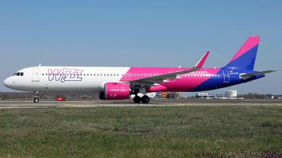 HA-LVD - Airbus A321-271NX - Wizz Air