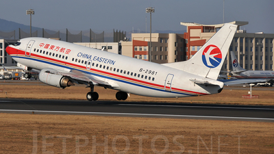 B-2981 - Boeing 737-3W0 - China Yunnan Airlines