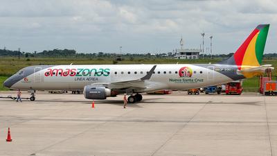 A picture of CP3130 - Embraer E190STD - Amaszonas - © La Roche Spotters