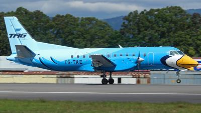 TG-TAE - Saab 340B+ - TAG Airlines - Transportes Aéreos Guatemaltecos