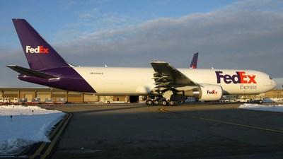 A picture of N188FE - Boeing 767300F(ER) - FedEx - © George Mihalek