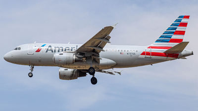 A picture of N737US - Airbus A319112 - American Airlines - © Israel Polanco