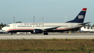 N456UW - Boeing 737-4B7 - US Airways