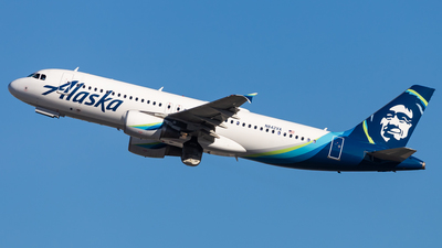 A picture of N842VA - Airbus A320214 - Alaska Airlines - © Brandon Giacomin