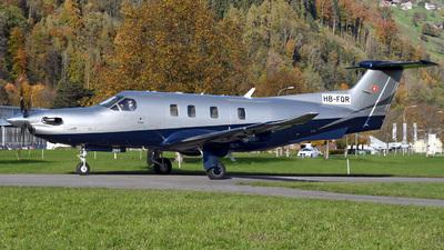 HB-FQR - Pilatus PC-12 NGX - Private
