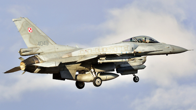 4049 - Lockheed Martin F-16C Fighting Falcon - Poland - Air Force