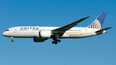 N27901 - Boeing 787-8 Dreamliner - United Airlines