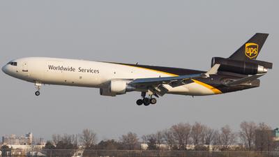 N272UP - McDonnell Douglas MD-11(F) - United Parcel Service (UPS)