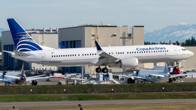 A picture of HP9913CMP - Boeing 737 MAX 9 - Copa Airlines - © Nick Sheeder