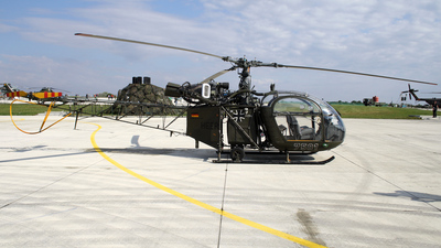75-01 - Sud-Est SE.3130 Alouette II - Germany - Army