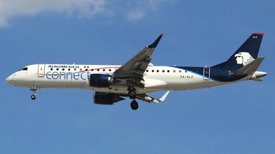 XA-ALZ - Embraer 190-100IGW - Aeromexico Connect