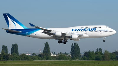 F-HSEA - Boeing 747-422 - Corsair International