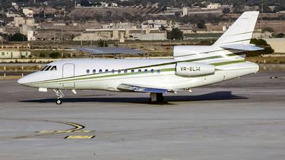 VR-BLM - Dassault Falcon 900 - Private