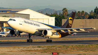 A picture of N149UP - Airbus A300F4622R - UPS Airlines - © Ricky Teteris