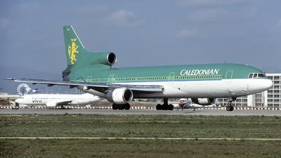 G-BBAF - Lockheed L-1011-100 Tristar - Caledonian Airways
