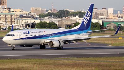 JA56AN - Boeing 737-881 - All Nippon Airways (ANA)