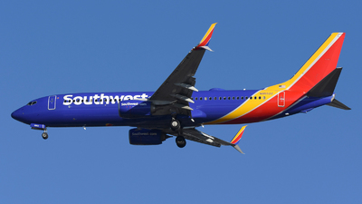 A picture of N8552Z - Boeing 7378H4 - Southwest Airlines - © DJ Reed - OPShots Photo Team
