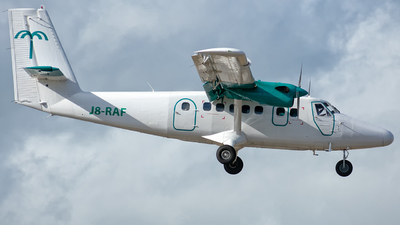 J8-RAF - De Havilland Canada DHC-6-300 Twin Otter - SVGair