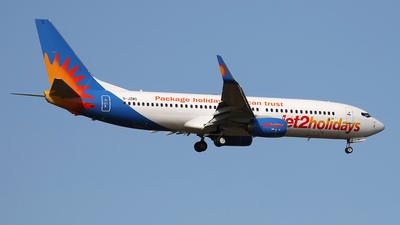 A picture of GJZBO - Boeing 7378MG - Jet2 - © Nigel Fenwick