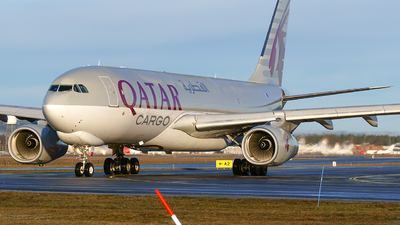A picture of A7AFH - Airbus A330243F - Qatar Airways - © Laszlo Fekete