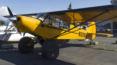 N5170A - Piper PA-18-135 Super Cub - Private