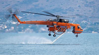 N173AC - Sikorsky S-64E Helitanker - Erickson Air-Crane