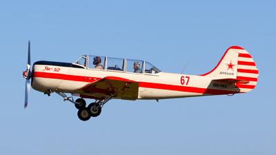 OO-YKV - Yakovlev Yak-52 - Private