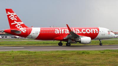 A picture of PKAZF - Airbus A320216 - AirAsia - © Ravinsa adikara