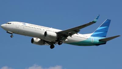PK-GNK - Boeing 737-8U3 - Garuda Indonesia