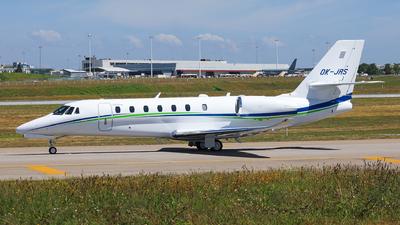 OK-JRS - Cessna 680 Citation Sovereign Plus - SmartWings