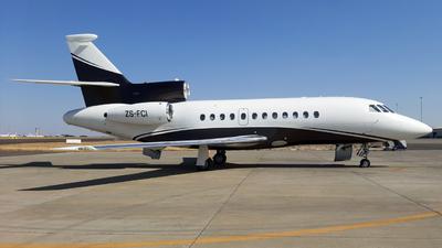 ZS-FCI - Dassault Falcon 900EX - Private