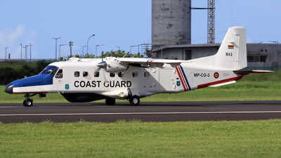 MP-CG-3 - Hindustan Aeronautics 228-201 - Mauritius - Coast Guard