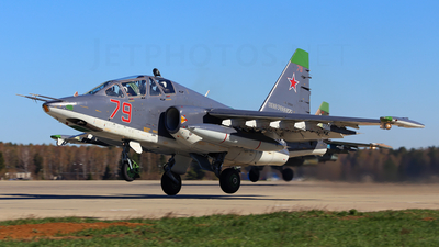 79 - Sukhoi Su-25UB Frogfoot - Russia - Air Force
