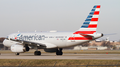 A picture of N807AW - Airbus A319132 - American Airlines - © Connor Cummings