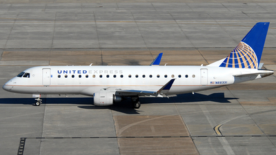 A picture of N88331 - Embraer E175LR - United Airlines - © Jason Whitebird