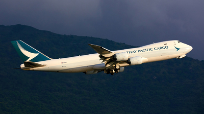 A picture of BLJA - Boeing 747867(F) - Cathay Pacific - © Noge Tam