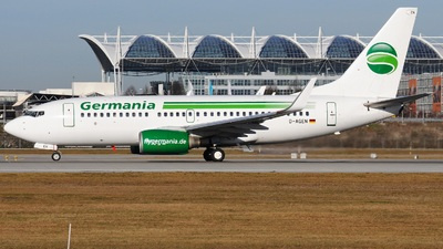 D-AGEN - Boeing 737-75B - Germania