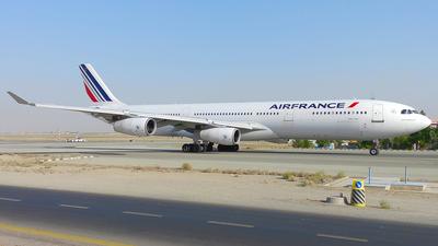 F-GLZI - Airbus A340-311 - Air France