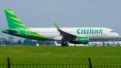 A picture of PKGQD - Airbus A320214 - Citilink - © Wilbert Tana