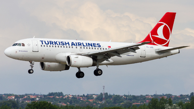 TC-JUD - Airbus A319-132 - Turkish Airlines