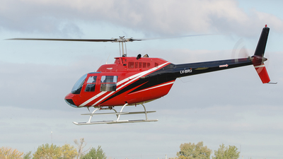LV-BRU - Bell 206B JetRanger III - Modena Air Service