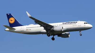 A picture of DAIUB - Airbus A320214 - Lufthansa - © Christoph Plank