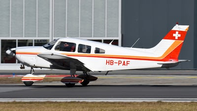 HB-PAF - Piper PA-28-180 Cherokee Archer - Private