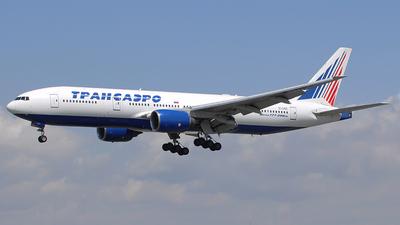 EI-UNS - Boeing 777-212(ER) - Transaero Airlines